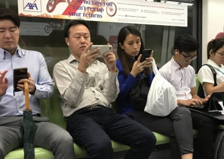 Screen time and Singaporean transit