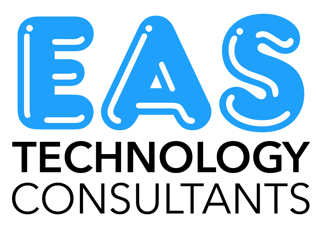 EAS TC logo stacked transparent black letters